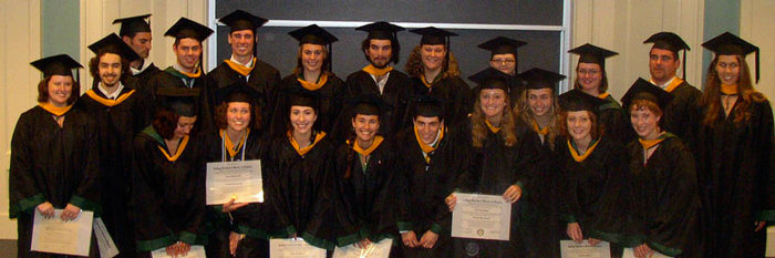 """William & Mary Geology- Class of 2009"""