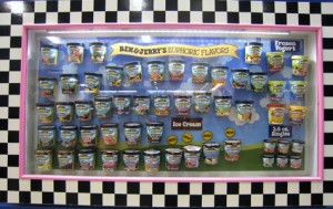 Ben and Jerry's is a great example of one of a local Vermont company that grew into a global corporate giant through tremendous local support.