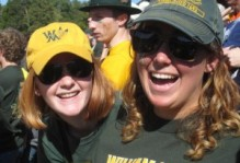 two people in William and Mary gear