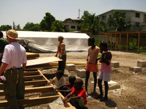 School construction project in Port-au-Prince