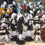 an entire orchestra made out of Murano glass statuettes