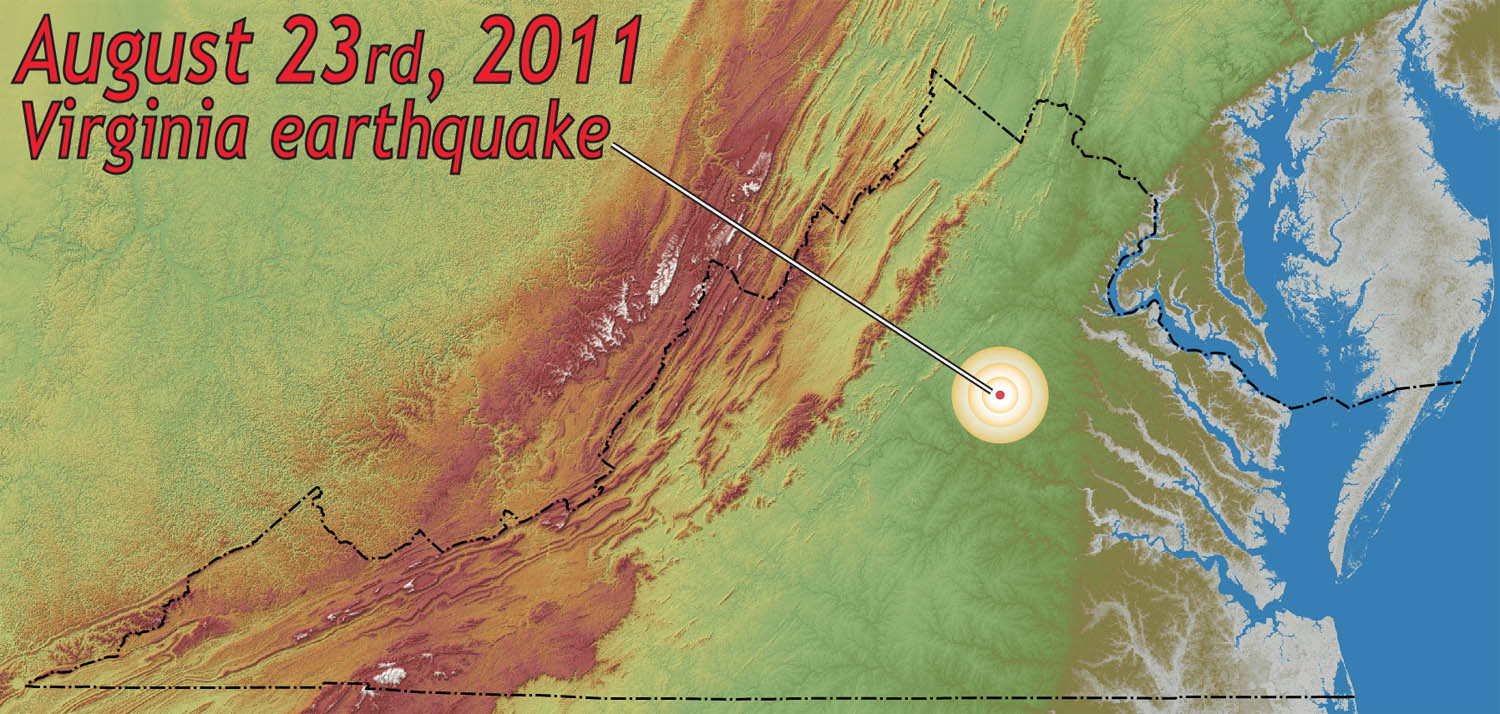 All Shook Up  The 2011 Virginia Earthquake