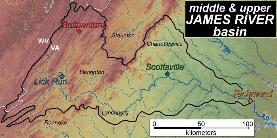 James River Us Map.Down The James In Three Days The William Mary Blogs