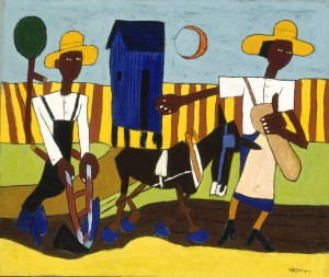 William H. Johnson, Sowing