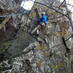 Climbing in Action