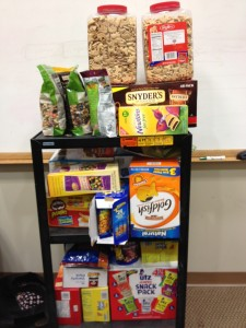 The Committee Snack Cart
