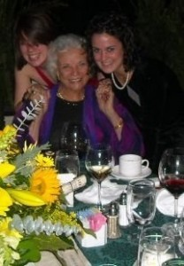 I was honored to speak at a dinner with former Chancellor Sandra Day O'Connor in attendance, and Allison came with me.