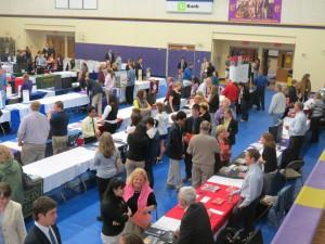 A typical college fair
