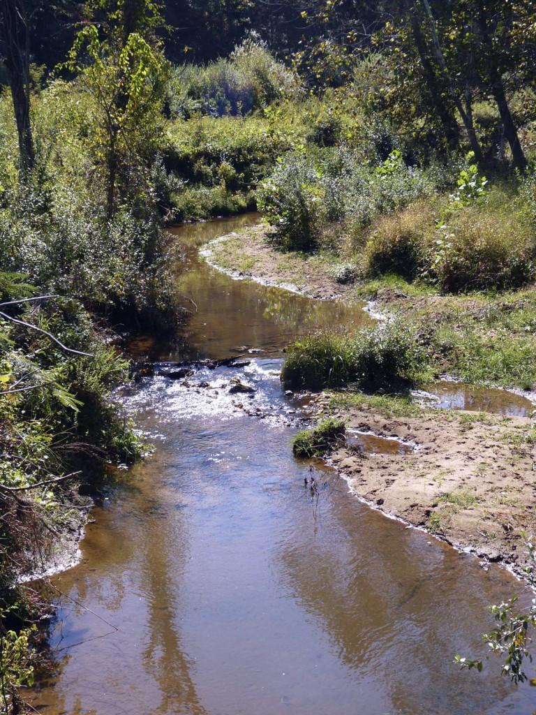 Ivy Creek in Albemarle County, Virginia.