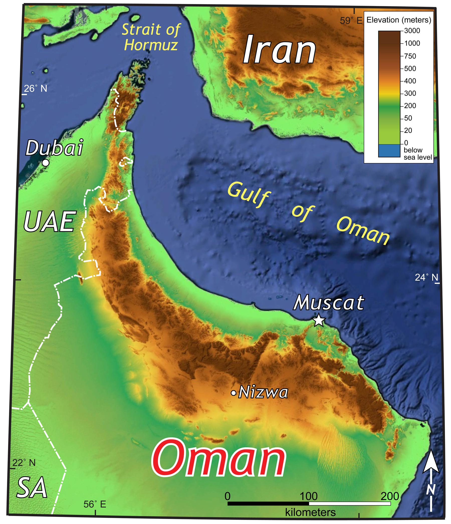 Dispatches from Oman: Ophiolite to Aflaj - The William & Mary Blogs
