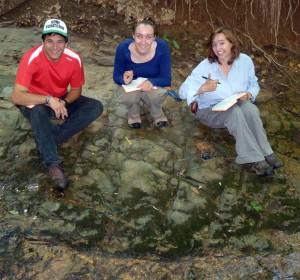 The Buckmarlson Banshees Banshees. Patrick Frier, Ciara Mills, and Anna Spears deep in the heart of Virginia.