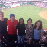 First Session Interns. Nats game
