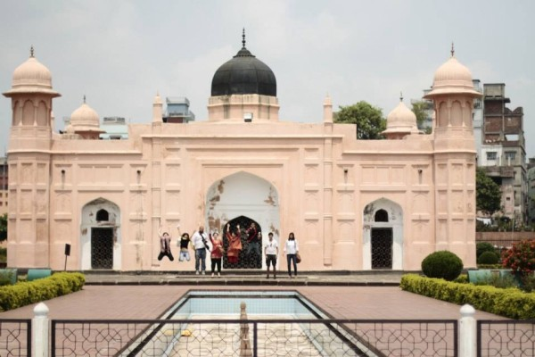 Lalbagh Fort, a Mughal complex built in the 17th century.