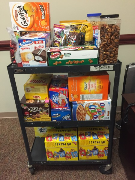 Committee Snack Cart