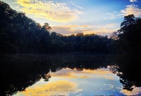 a filtered photo of matoaka