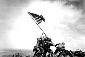 Raising of the American Flag on Iwo Jima