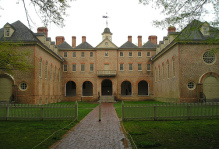 a front view of the wren building