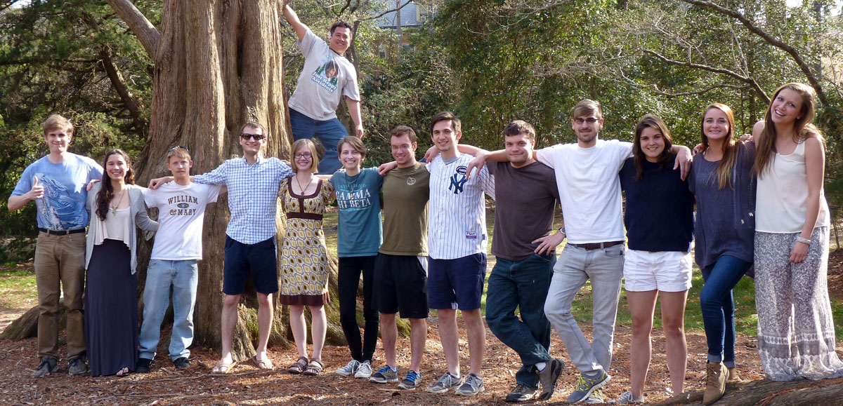 The bold and brawny 2016 W&M Structure & Tectonics research group.