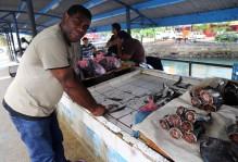 a market in fiji