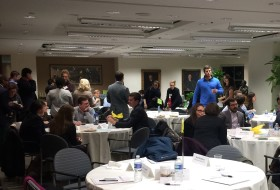 DC winter seminar students network with W&M alumni