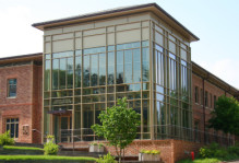 The Cohen Career center outside view