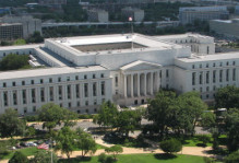 Rayburn House Office Building aerial view