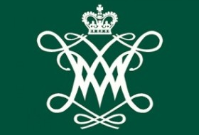 Front of W&M postcard (with the wm logo)