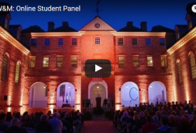 the Why W&M online student panel video (at the wren building)