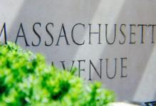 Sign for Massachusetts Avenue