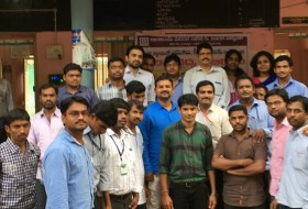 The staff of Santhiram General at the Ortho camp