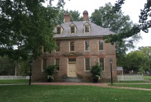 The President's house at Wiliam and Mary