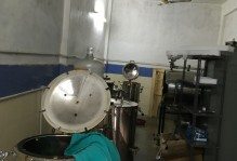 Ophthalmology OT's autoclave room with four autoclaves at Santhiram General Hospital