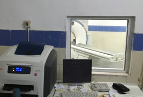 CT and accessories from the Santhiram General hospital