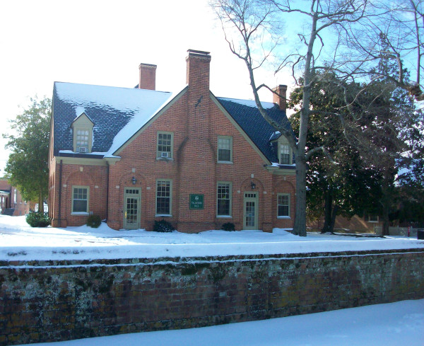 Taliaferro Hall after a snow storm!