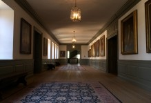 President's gallery in the Wren Building