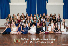 Phi Mu Group photo