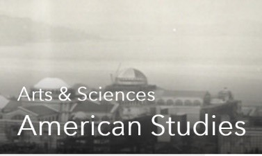 A logo image for the Arts & Sciences American Studies