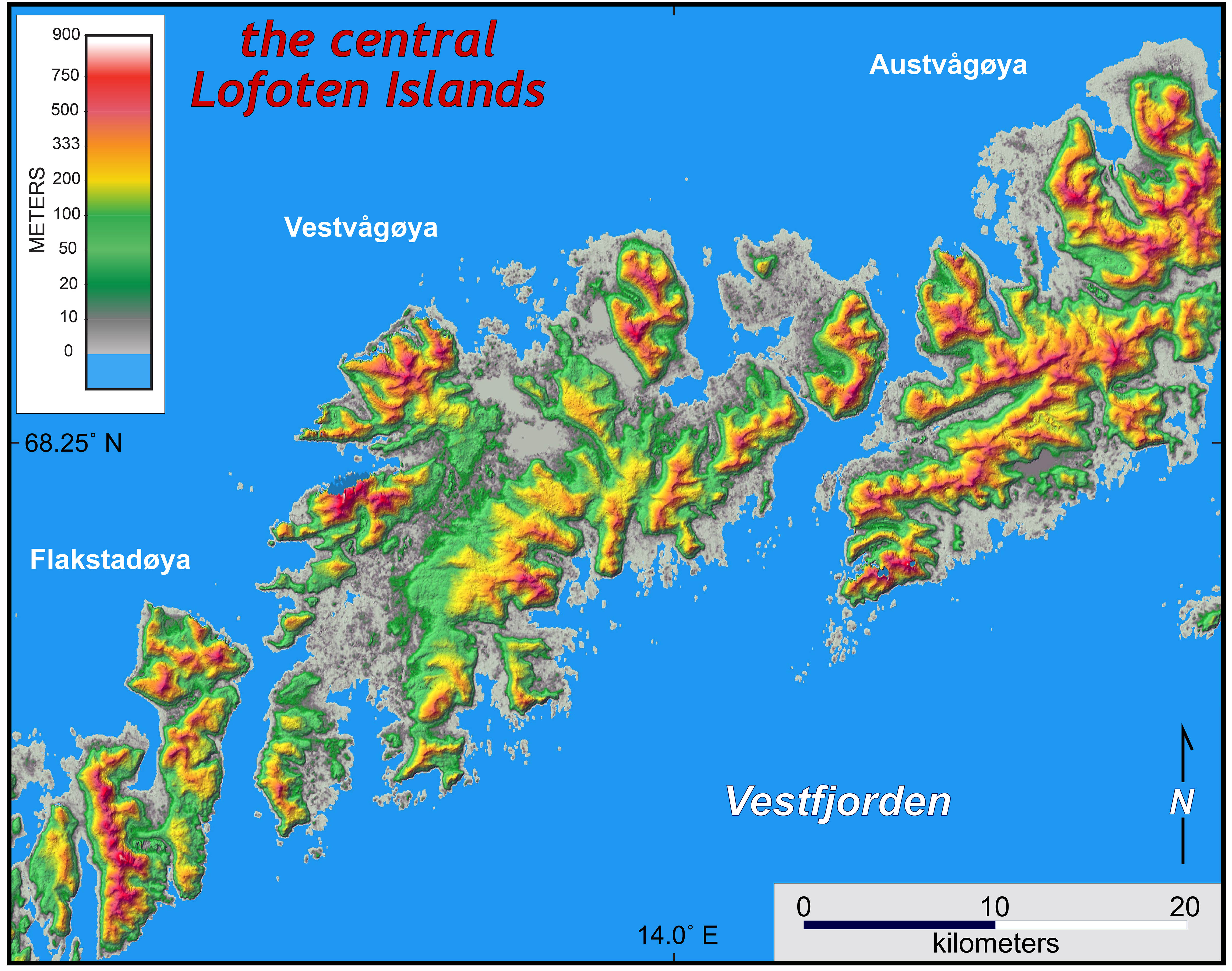 Snow On Eclogite WM Geology In Norway The William Mary Blogs - Norway map highlights