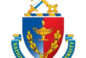 the emblem for the National Defense University