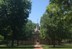 The Wren Building in the Summer