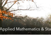 Running Banner Image for Arts & Sciences: Computational & Applied Mathematics & Statistics