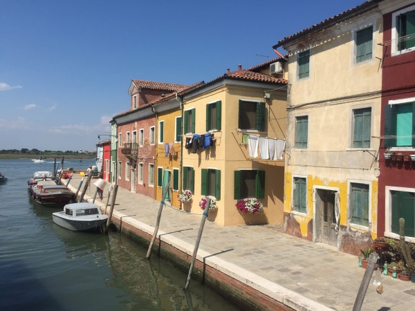 Spent time on Burano, a beautiful and colorful island in the Venetian Lagoon. Our weekend in Venice was definitely my favorite excursion!