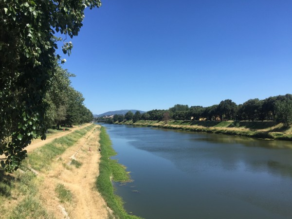 "Spent an afternoon exploring Cascine, a giant park near our apartment and the Arno River. It was fun to see a less ""touristy"" part of the city!"