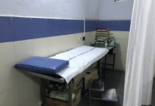 Patients are taken back into this more private area to conduct further tests for diagnoses.