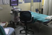 This is the room where many of the ultrasound scans are taken.