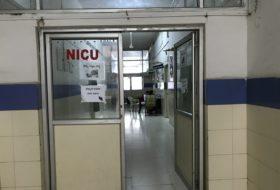 NICU Room of the Pediatrics Department
