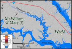 A righteous and proper Mt. William & Mary located only ~15 miles from campus.