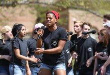 Cleftomaniacs perform at Day for Admitted Students
