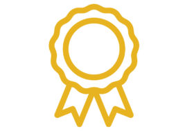 generic gold ribbon