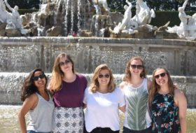 Visiting the Schönbrunn Palace this past summer while studying abroad with friends.